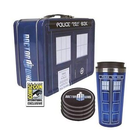 Doctor Who Tardis Tin Tote Gift Set