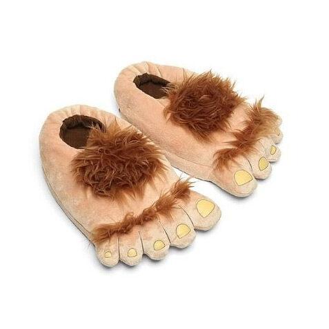 Flurry Halfling Hobbit Feet Slippers