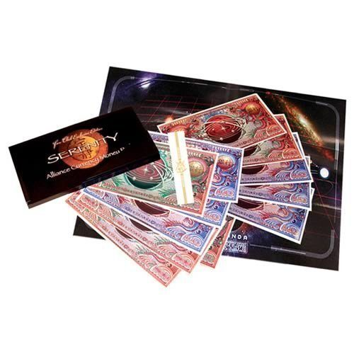 Serenity Bank Heist Money by Quantum Mechanix