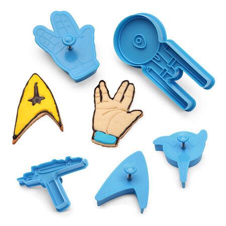 Star Trek Cookie Cutter Set of 5
