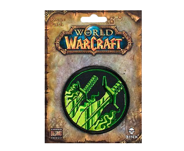 """World of Warcraft Rogue Class Patch MultiColor 3"""""""