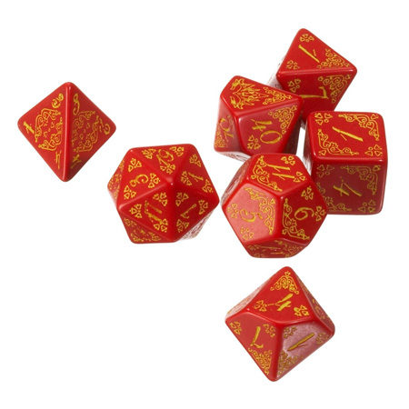Pathfinder: Curse of The Crimson Throne Dice