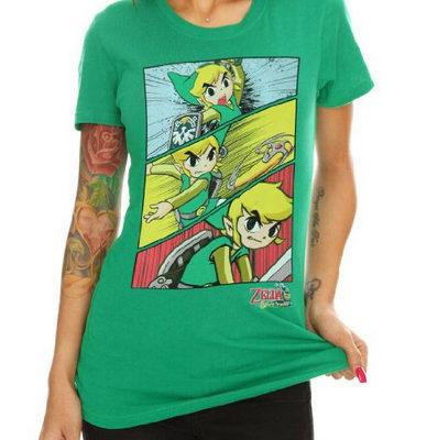Legend of Zelda Tshirts for girls