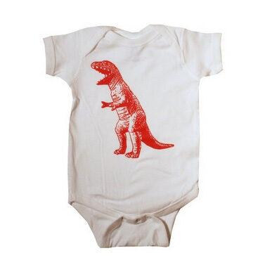 The Big Bang Theory T-Rex Baby Bodysuit