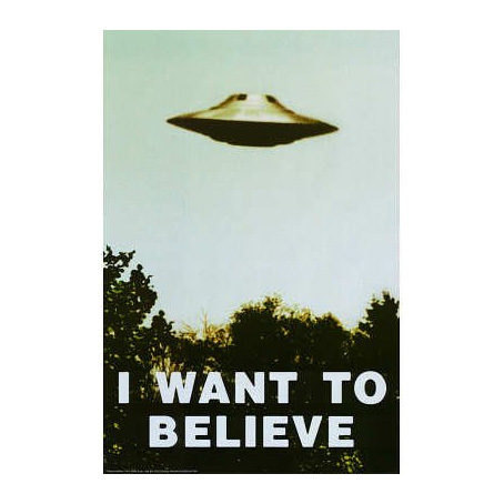 X-Files I Want to Believe Poster