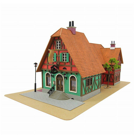 How's moving castle papercraft