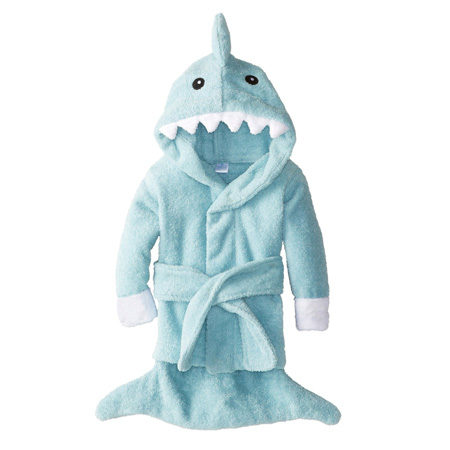 "Baby ""Let the Fin Begin"" Shark Robe"
