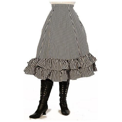 Mid-Length Persephone Bustle Skirt
