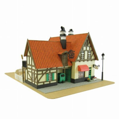 Kiki's Delivery Service Bakery Gutiokipanja Paper Craft Kit