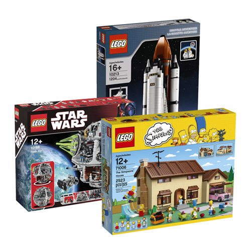 Top 10 Geeky Lego Sets