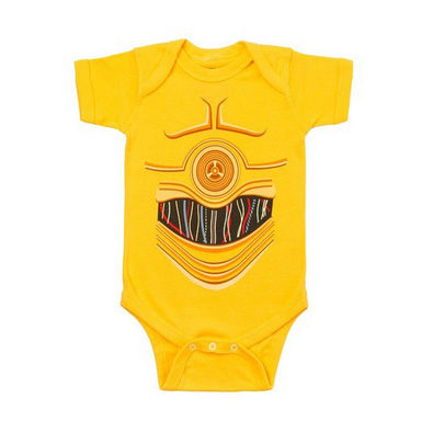 Star Wars C-3P0 Baby Bodysuit
