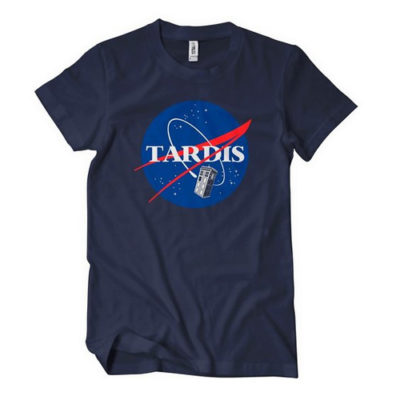Dr Who Tardis NASA T-Shirt