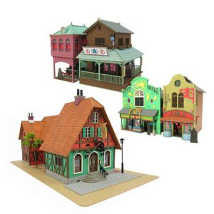 Top 10 Papercraft Anime Houses