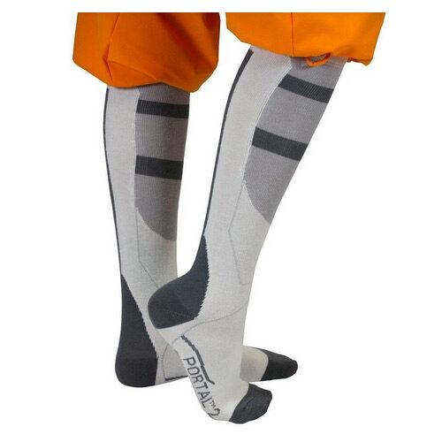 Portal 2 Chell's Aperture Long Fall Socks