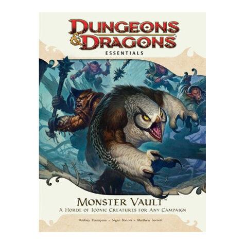 Monster Vault: An Essential Dungeons & Dragons Kit