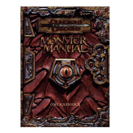 D&D Monster Manual: Core Rulebook III