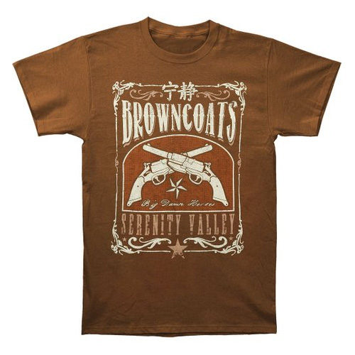 Firefly Browncoats Serenity Valley Men's T-shirt
