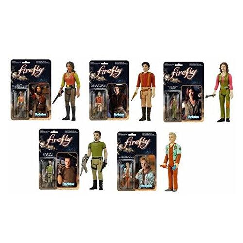 Firefly: Set of 5 Funko Retro Action Figures