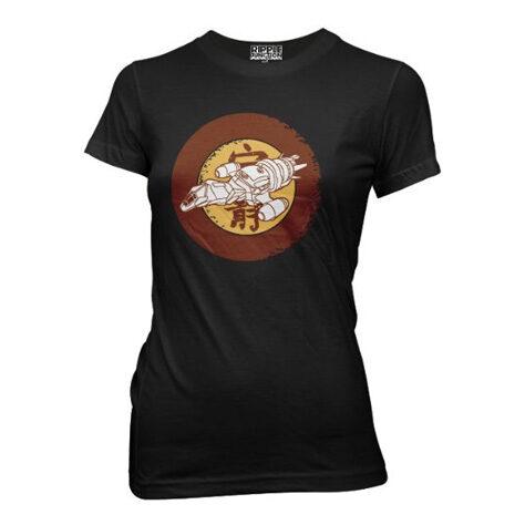 Serenity Firefly Ship Symbol Womens T-shirt