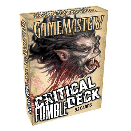 GameMastery: Critical Fumble Deck