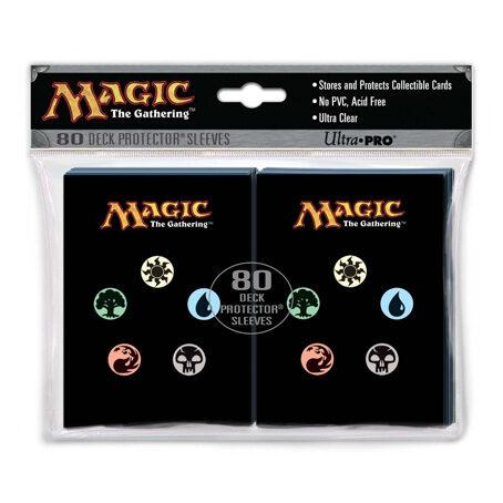 Magic The Gathering Mana Symbols Deck Protectors