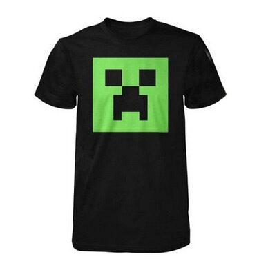 Minecraft Creeper Glow in the Dark T-Shirt