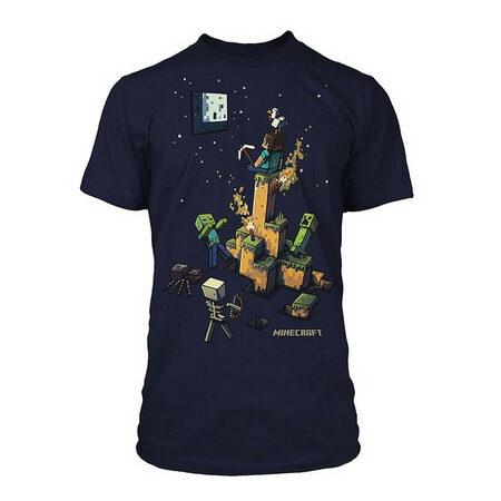 Minecraft at Night T-Shirt