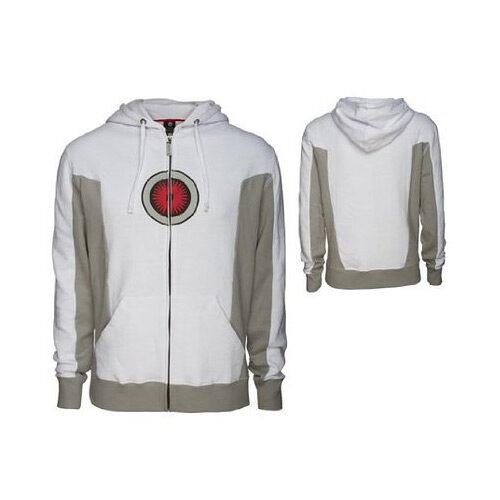 Portal 2 Turret Men's White Premium Hoodie Jacket