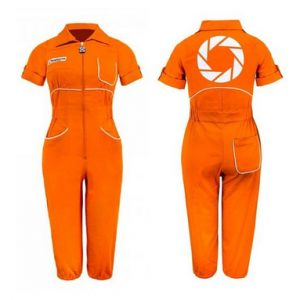 Womens Chell Portal Jumpsuit