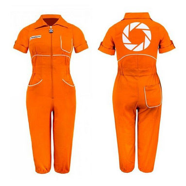 Womens Chell Portal Jumpsuit