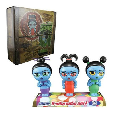 Serenity Fruity Oaty Girls Bobble Head Figures Set