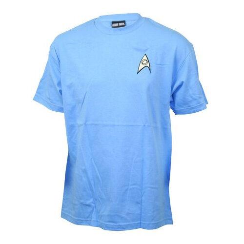 Star Trek The Original Series Blue Uniform Tee