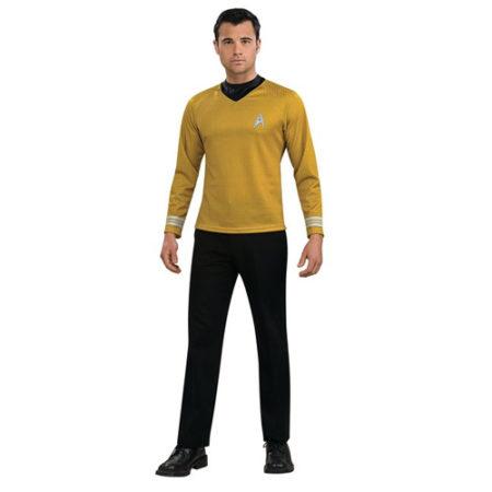 Rubies Mens Captain Kirk Star Trek Costume