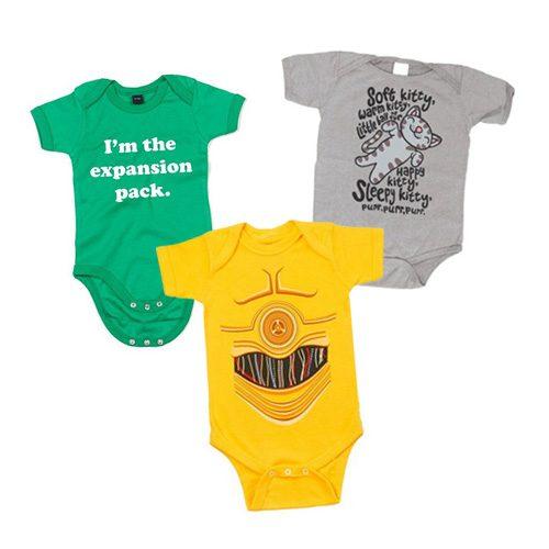 Top 10 Onesies For Geeky Babies
