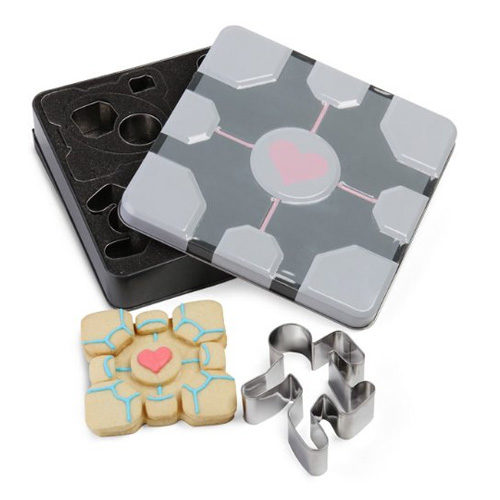 Portal Companion Cube Cookie Cutters (Set of 8)