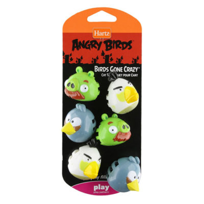 Official Hartz Angry Birds Cat Toys