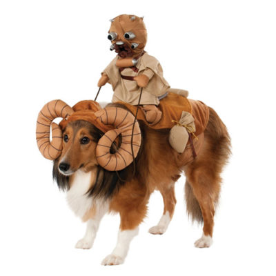 Star Wars Bantha Costume with attached rider