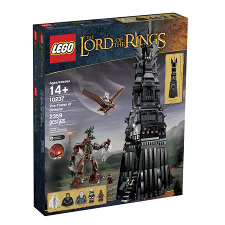 LEGO Lord of the Rings Tower of Orthanc Building Set