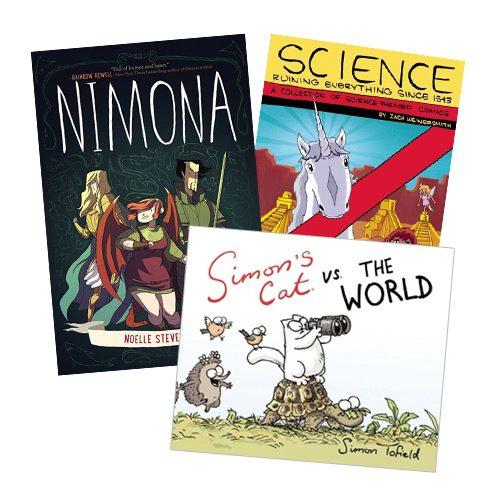 Top 10 Web Comics Published As Books