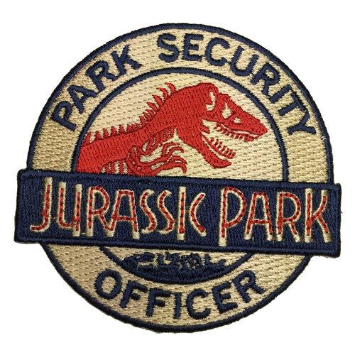 Jurassic Park Ranger Park Security Officer Patch