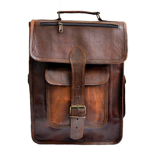Leather Briefcase, Backpack or Travel Bag