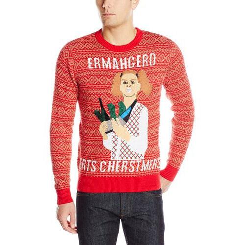 Ermahgerd Ugly Christmas Sweater