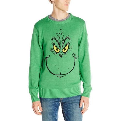 Dr. Seuss Grinch Christmas Sweater