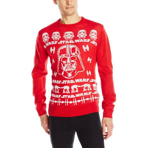 Star Wars Red Christmas Sweater