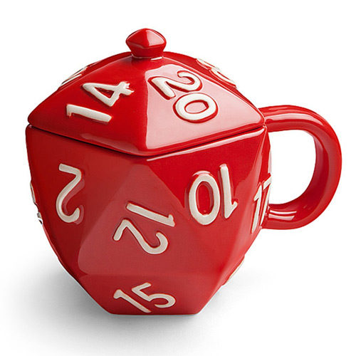 Critical Hit D20 Ceramic Mug