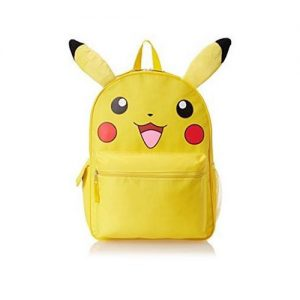 "Pikachu 16"" Backpack with Plush Ears"