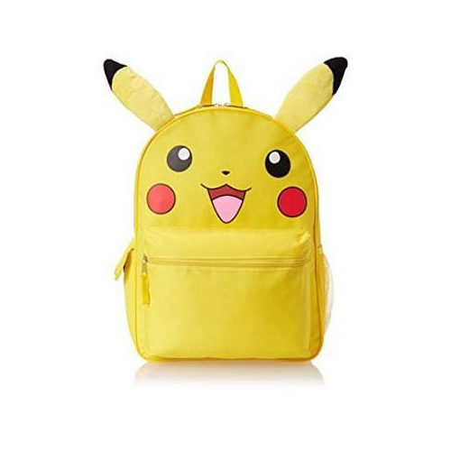 "Pikachu 16"" Backpack with Plush Ears"