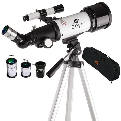 Gskyer® Instruments Infinity 70mm AZ Refractor 400mm