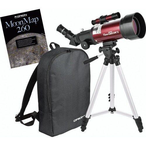 Orion GoScope II 70mm Refractor Travel Telescope & Moon Kit