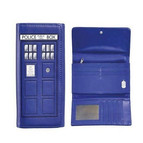 Doctor Who TARDIS Embossed Flap Wallet